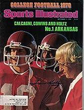 Lou Holtz Autographed Notre Dame Fighting Irish Sports Illustrated 8/11/78 JSA
