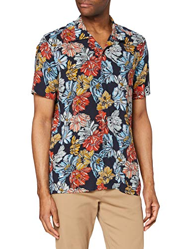 find. Camisa Hawaiana de Manga...
