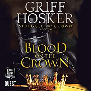 Blood on the Crown audiobook cover art