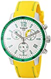Tissot Men's T0954491703701 Quickster Analog Display Swiss Quartz Yellow Watch