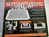 The Original Stonewave Microwave Warming Plate by Emson