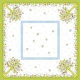 Tischdecken aus Airlaid | Mitteldecken 80 x 80 cm | Mank Einmal-Tischdecke für Gastronomie | 20 Stück | Insa