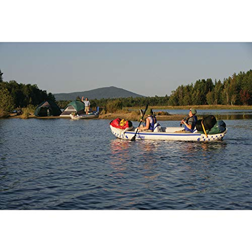 Sea Eagle 370 Deluxe 3 Person Inflatable Kayak