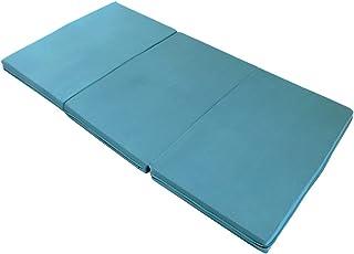エイプマンパッド310 高反発マットレス 三つ折り 厚み10cm シングル ミッドブルー 90日返品保証ありモデル