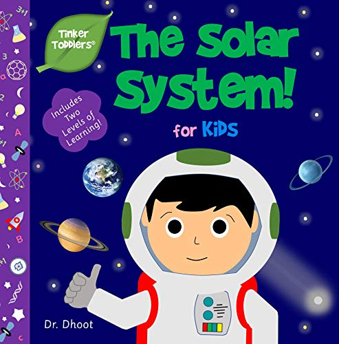 Solar System for Kids (Tinker Toddlers) (English Edition)