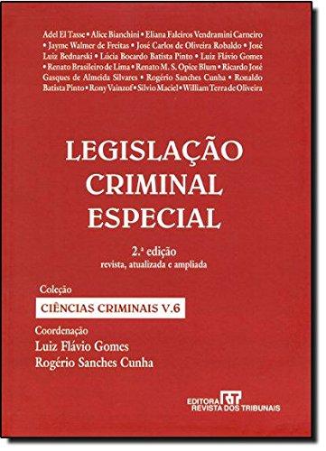 Legislação Criminal Especial - Volume 6