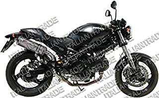 MIVV AD.019.L4 - Exhaust For Ducati Monster 695 Oval Titanium High