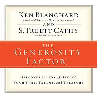 The Generosity Factor audiobook cover art
