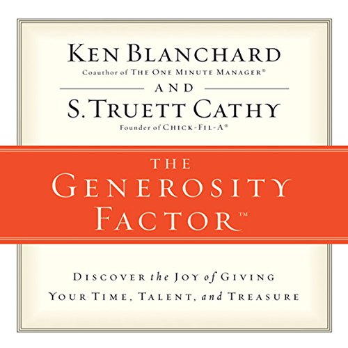 The Generosity Factor audiobook cover art