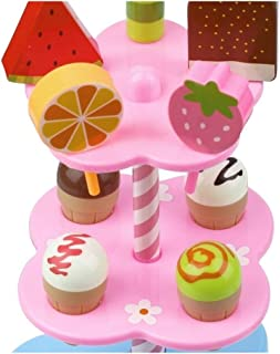 Toy Play Food, Shop Supermarket Kids Play Food, Ice Cream Toy Pretend Play Food for Pretend Role Playing Christmas Gifts Dress up home baby enlightenment