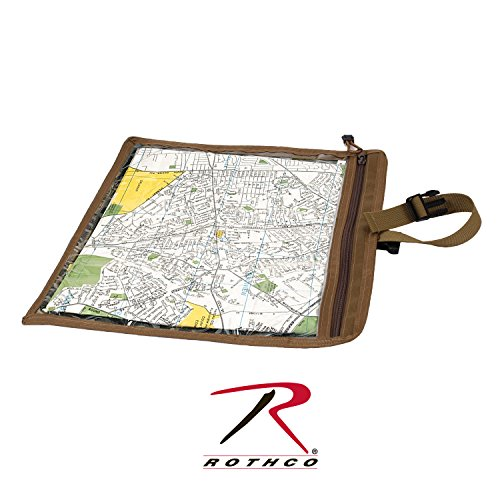 Rothco Map and Document Case, Coyote Brown