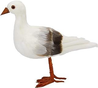 Artificial Seagull Birds Statue Garden Sculpture Home Ornament Creative Gift