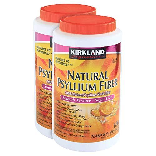 Kirkland Signature Natural Sugar Free Psyllium Fiber, 360 Doses