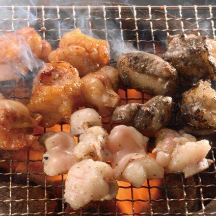 博多もつ焼き三昧福袋 「白(塩)、赤(味噌)、黒(黒胡麻)の3種のホルモン焼き 」 焼肉 バーベキューに( お歳暮ギフト贈り物にも)
