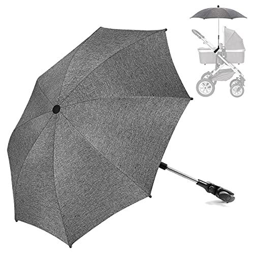 Pushchair Parasol Universal,Umbrella for Pram Parasol to Fit Stroller Buggy...