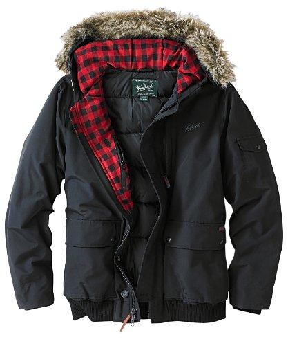 Woolrich Men's Rescue Jacket, Black, Large