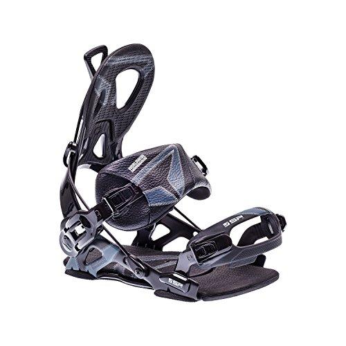 SP United Snowboardbinding Core, zwart, S