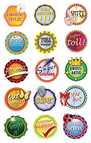 AVERY Zweckform 53130 Papier Sticker Buttons 30 Aufkleber