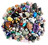 ROCK, GEM & MINERAL COLLECTION ACTIVITY KIT: over 150 pcs with full-color educational identification sheet. Favorites include: amethyst, quartz, tiger eye, jasper, calcite, turquenite and many others. FIND, SORT & IDENTIFY--rock and mineral treasures...