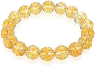 "Adabele Natural Gemstone Bracelet 7"" 7.5"" 8"" 8.5 inch Stretchy Chakra 10mm (0.39"") Beads Gems Stones Healing Crystal Quart..."