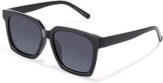 Classic Square Sunglasses for Women PARZIN Mirrored Men UV400 Protective Shades PZ1683