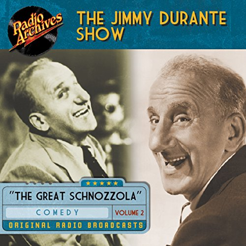 Jimmy Durante Show, Volume 2 audiobook cover art