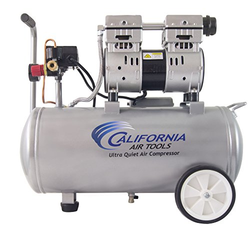 California Air Tools 8010 Steel Tank Air Compressor | Ultra Quiet,...