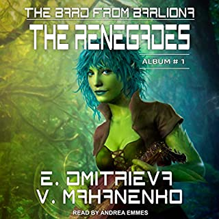 The Renegades audiobook cover art
