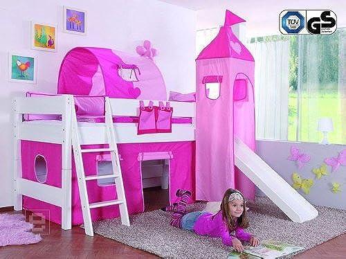Kinderzimmer Hochbett Jugendbett inkl. Zubeh TüV GS Kinderbett Jugendzimmer