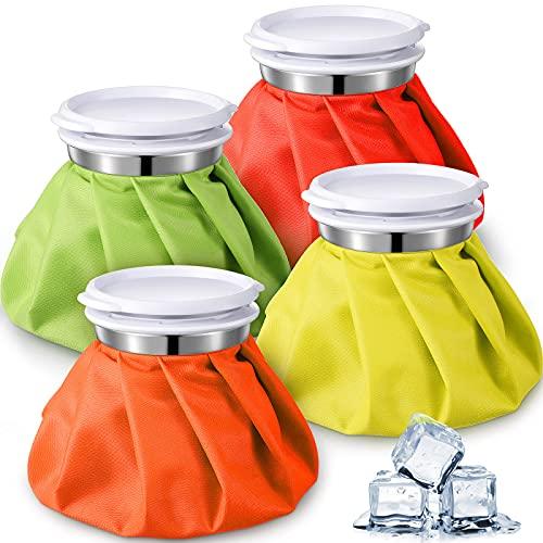 4 Bolsas de Hielo Bolsa de Frío y Calor Reutilizable Bolsa de...