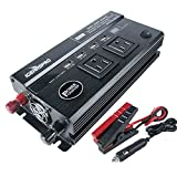 iGearsPro 800W Car Power Inverter DC 12V to AC 110V 50Hz with 4 USB Ports / 2 AC Outlets (800w)