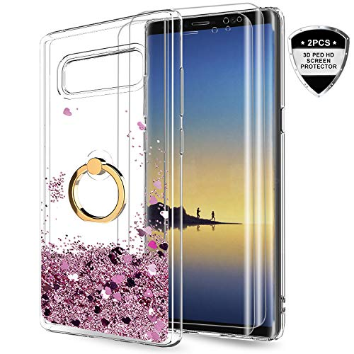 LeYi Samsung Galaxy Note 8 Case with 3D PET Screen Protector [2 Pack]...