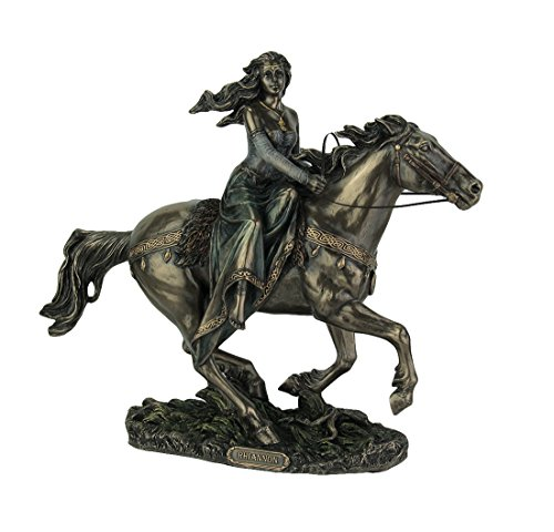 Rhiannon - Celtic Goddess on Horse Statue