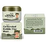 Mascarilla de arcilla de burbujas, rica en oxígeno, que minimiza los poros y limpia en profundidad, hidratante, de Kayi