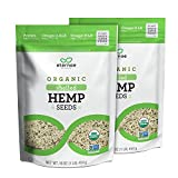 Eternae By Nature Organic Shelled Hemp Seeds, 16 Oz, 2Count