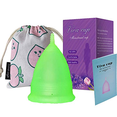 Copa Sensible Super Suave Copa Menstrual - Copas de Silicona de Grado...