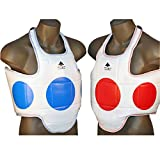 Pine Tree Sang Moo Sa Martial Arts, Taekwondo, Reversible Chest Guard Dot - Large