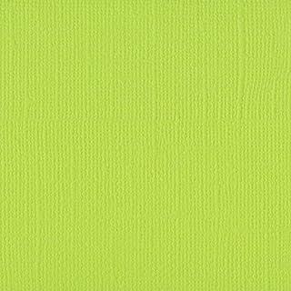 Vaessen creative Florence Papier Cartonné, Vert (Citron, 216g, A4, 10 Feuilles, Surface Texturée, pour Peindre, Scrapbooki...