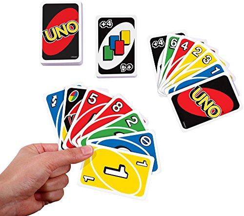 Mattel W2087 – Uno, Kartenspiel - 2