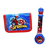 Reloj Digital Spiderman + Billetera Estampada Spiderman.El Regalo Ideal para niños.Relojes para...