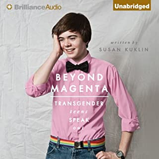 Beyond Magenta audiobook cover art
