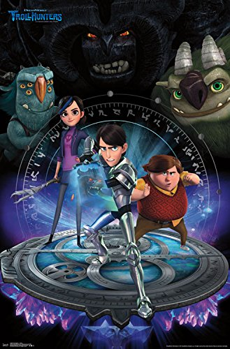 """Trends International Trollhunters Group Wall Poster 22.375"""" X 34"""""""
