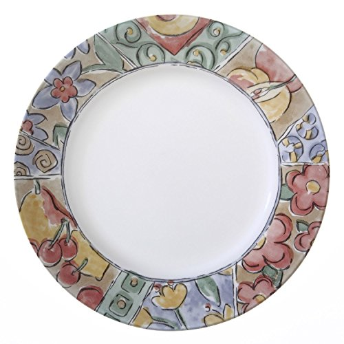 Corelle Impressions Watercolors 10.75' Dinner Plate (Set of 4)