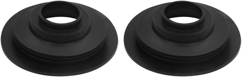 uxcell 2pcs 95mm Surprise price Dia Rubber Car Headlight Housing S Dust Cap sold out LED