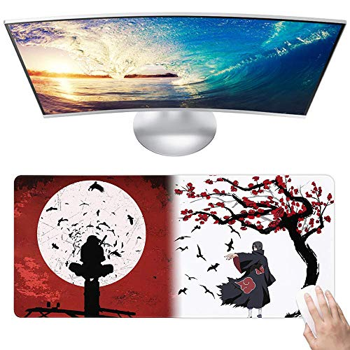 Naruto Custom Mouse Pad Anime Mouse Mat Home Office Computer Gaming Mousepad Desk Mat Large