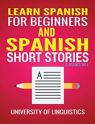 Learn Spanish For Beginners AND Spanish Short Stories 2 Books IN 1 product image