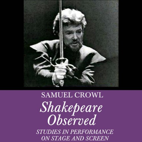 Shakespeare Observed audiobook cover art
