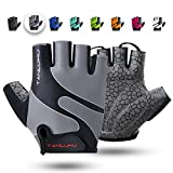 Best Gel Bike Gloves - Tanluhu Cycling Gloves Mountain Bike Gloves Half Finger Review