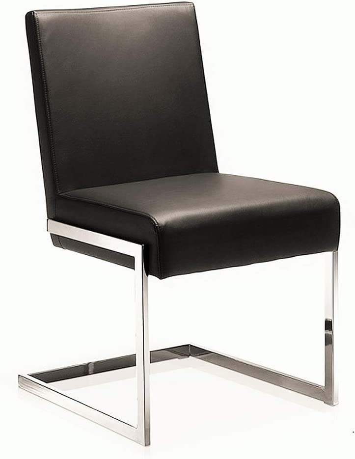 Arlington Mall Casabianca Furniture Fontana Dining Chair wi Cheap super special price White in pu-Leather