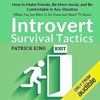 Introvert Survival Tactics audiobook cover art